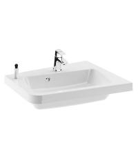 Угловой мебельный умывальник Ravak 10° 550 white, левый, XJIL1155000