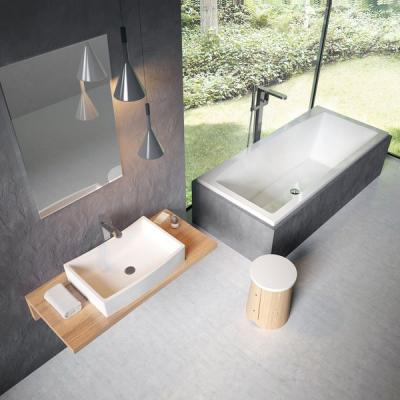 Мебельная раковина Ravak FORMY 02 600 D white, без перелива, XJM01260000