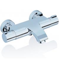 Термостатический настенный смеситель для ванны без лейки Ravak TERMO 150, X070046