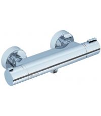 Термостатический настенный смеситель для душа без лейки 150мм Ravak TERMO, X070051