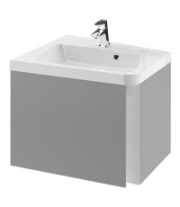 Шкафчик под угловой умывальник Ravak SD 10° 550 L серый, X000000740