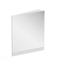 Зеркало Ravak 10° 650, белое, правое, X000001079