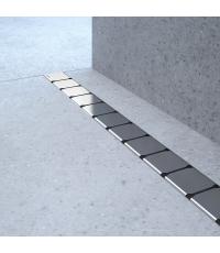 Душевой канал 10° 950 - нержавеющая сталь, X01577