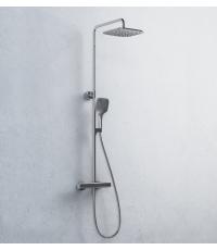 Душевая стойка с термостатическим смесителем и ручным душем Ravak 10°, X070103