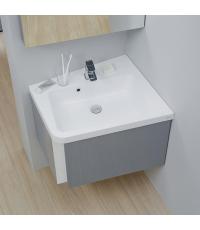 Мебельная раковина с отверстием Ravak 10° 650, white, левая, XJIL1165000