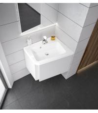 Мебельная раковина с отверстием Ravak 10° 550, white, правая, XJIP1155000