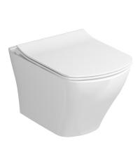 Подвесной унитаз Ravak WC Classic RimOff, белый, X01671
