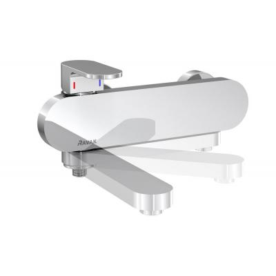 Смеситель  для ванны без лейки 150 мм Ravak Chrome, X070042