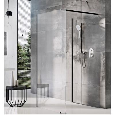 Стенка для душа Ravak WALK-IN CORNER - 120 x 90, черный безопасное стекло, GW1CG7300Z1