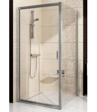Стенка для душевой кабинки Ravak BLIX BLPS - 80 Transparent, полированный алюминий, стекло, 9BH40C00