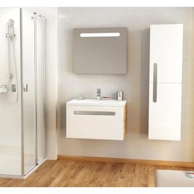 Зеркало Ravak CHROME 600 с подсветкой, белое, X000000546