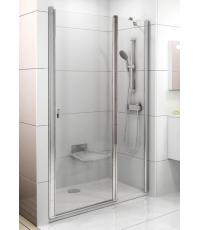 Душевая дверь Ravak CHROME CSD 2 - 110 Transparent, полированный алюминий, безопасное стекло, 0QVDCC