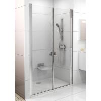 Душевая дверь Ravak CHROME CSDL 2 - 100 Transparent, полированный алюминий, безопасное стекло, 0QVACC0LZ1