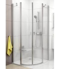 Душевая штора Ravak CHROME CSKK 4 - 90 Transparent, полированный алюминий, безопасное стекло, 3Q170C