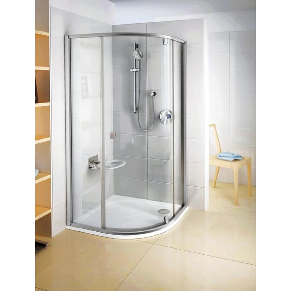 Душевой уголок Ravak PSKK3-80 Transparent белый ванная комната водолей