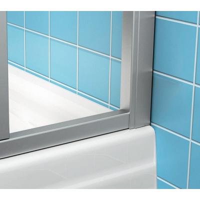 Боковая стенка для ванной Ravak SUPERNOVA APSV-80 Rain, белый профиль, пластик, 9504010241