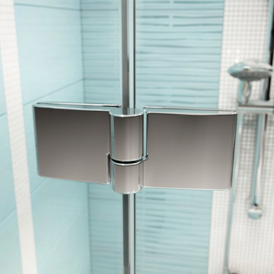 Душевые двери Ravak SMARTLINE SMSD 2 - 100 B-R Transparent, безопасное стекло, хром, 0SPABA00Z1