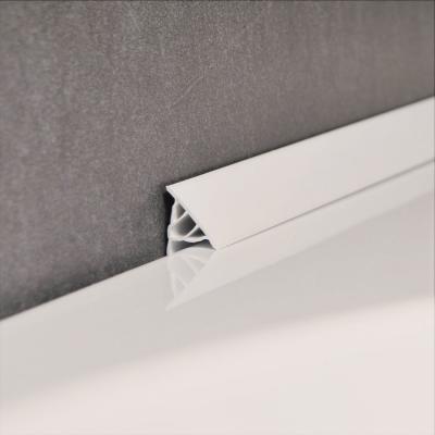 Декоративная планка для ванны NEW 11 мм / 2 м, белая, XB462000001