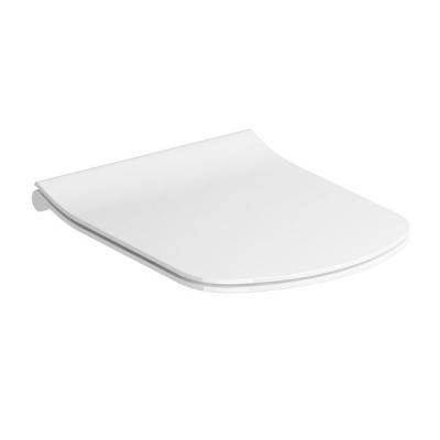 Сиденье для унитаза с крышкой WC Classic Slim RimOff , белое, X01673