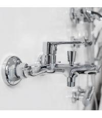Настенный смеситель для ванны Ravak Classic, X070083