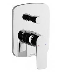 Смеситель встроенный с переключателем Ravak Classic, X070086