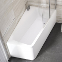 Асимметричная ванна Ravak 10° 160x95 L, snowwhite, C831000000