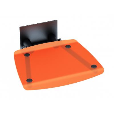 Сиденье для душа Ravak OVO-B, оранжевый/черный, B8F0000047