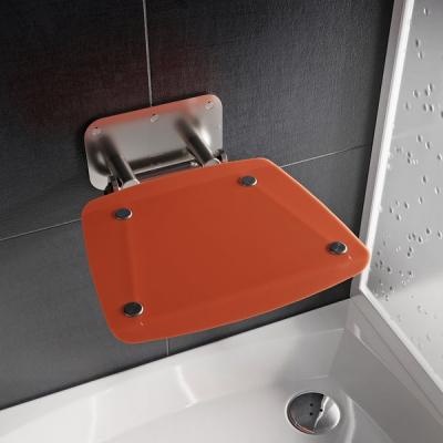 Сиденье для душа Ravak OVO B II, полупрозрачный оранжевый, B8F0000053