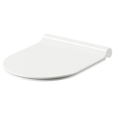 Сиденье для унитаза Uni Chrome Slim, белое, X01550