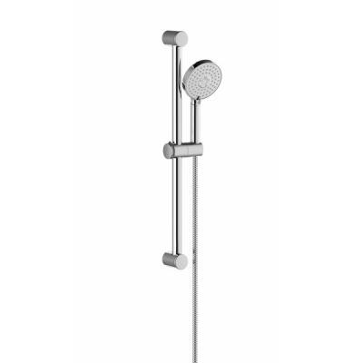 Душевой гарнитур - шланг 150 см, душевая лейка Flat M (3 функции), держатель (60см), X07S003
